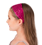 Soft Sequin Headband Set