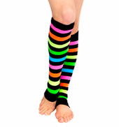 Neon Rainbow Legwarmers