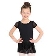 Child Sequined Cap Sleeve Dress