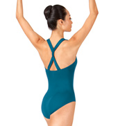 Adult Twist Strap Tank Leotard