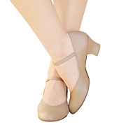 Adult Suede Sole Jr. Footlight 1 &frac12; Heel Character Shoe