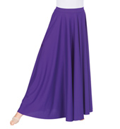 Adult Plus Size Double Layer Worship Circle Skirt