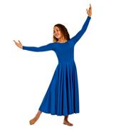 Adult Plus Size Worship Long Sleeve Dance Dress