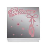 Ballerina Mirrored Trinket Box