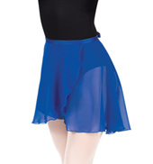 Adult Medium Length Chiffon Wrap Skirt