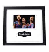 Born to Dance 4x6 Picture Frame