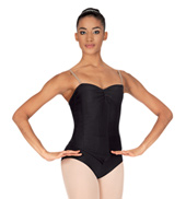 Child Corset Style Camisole Leotard