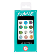 Stache LE BUTTON Popicons