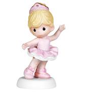 You Sparkle Bisque Ballerina Statue