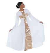 Plus Size Worship Long Cross Dress