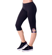 Tween Tessa Solid Capri Leggings