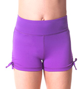 Teen Cassie Solid Dance Shorts