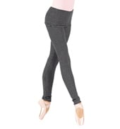 Adult Thermal Knit Warm Up Dance Pants