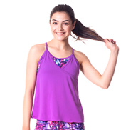 Teen Bella Double Layer Camisole Top