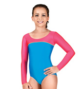 Child Gymnastics Long Sleeve Leotard