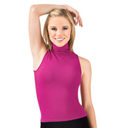 Seamless Turtleneck Tank Top