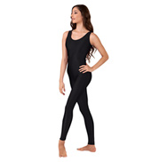 Adult Scoop Neck Nylon Tank Unitard
