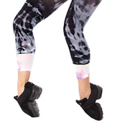 Adult Crop Tie Dye Tight