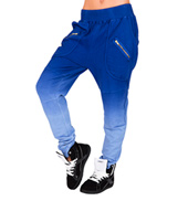 Adult Zipper Pocket Ombre Harem Pants