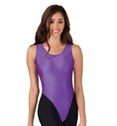 Adult Nylon Tank Thong Leotard