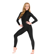 Adult Mock Neck Long Sleeve Unitard