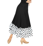 Adult Flamenco Skirt with Ruffle