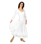 Adult Long Sleeve Flamenco Dress