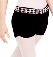 Womens Houndstooth Dance Short