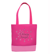 Dance Angel Rhinestone Dance Bag