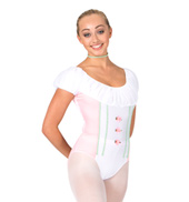 Pretty Costume Girls Short Sleeve Leotard