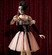 Music Box Dancer Adult Costume Set