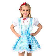 Red Shoes Girls Costume Set
