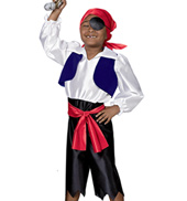 Buccaneer Boys Costume Set