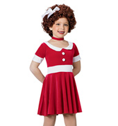 Annie Girls Short Sleeve Dress