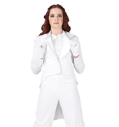 Top Hat and Tails Costume Girls Jacket