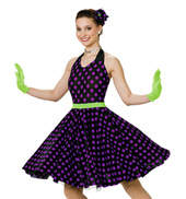 Its a Gals World Girls Halter Dress