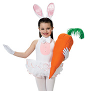 Cute Bunny Girls Costume Set