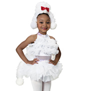Poodle Tail Girls Costume Set