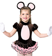 Teddy Bear Girls Costume Set