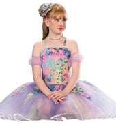 Girls Color Me Beautiful Costume Dress