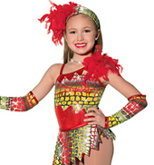 Girls Jungle Fever Costume Leotard