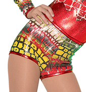 Girls Jungle Fever Costume Shorts