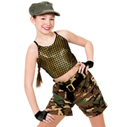 Girls G.I. Jane Costume Set