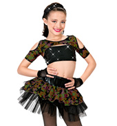 Girls Wild Child Three-Piece Costume