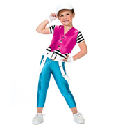 Girls Slow Down  Jumpsuit Costume Set