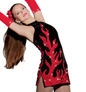 Girls Firestorm Costume Dress