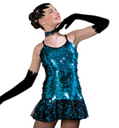 Girls Glamorous Lady Costume Dress