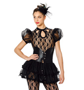 Girls The Lady is Back Jumpsuit Costume