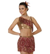 Girls Storm Two-Piece Costume
