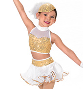 Girls All That Glitters Two-Piece Costume